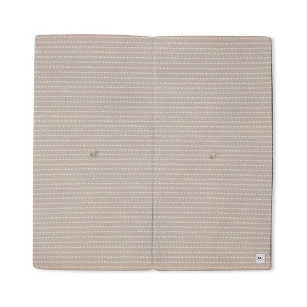 Stripe in Light Grey / Lavender | Mega | Padded Play Mat - Toki Mats