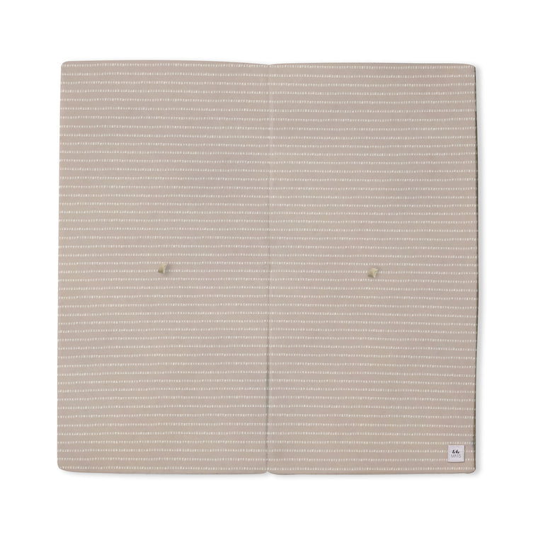 Stripe in Light Grey / Lavender | Mega | Padded Play Mat