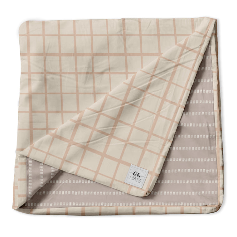 Grid in Peach | Standard Cover