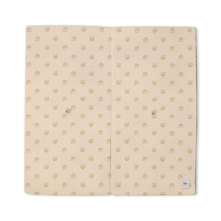 Imperfect | Rainbow Stamp in Cream | Standard | Padded Play Mat