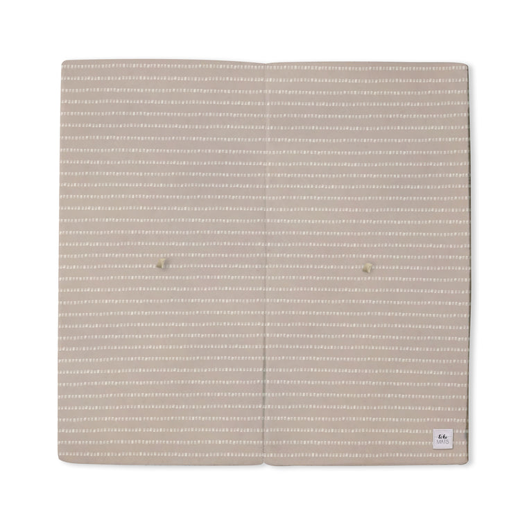Stripe in Light Grey / Lavender | Standard | Padded Play Mat