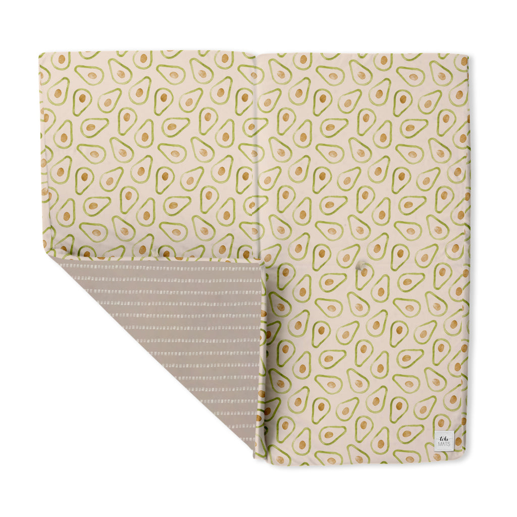 Avocado | Standard | Padded Play Mat - Toki Mats