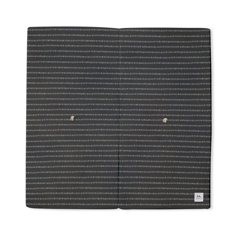Imperfect | Stripe in Dark Grey | Standard | Padded Play Mat