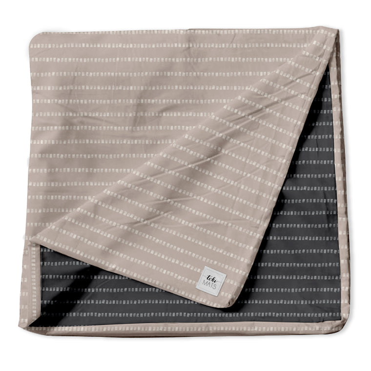 Stripe in Light Grey / Lavender | Mega Cover
