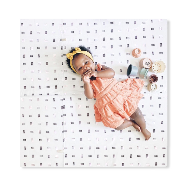 Imperfect | Mudcloth | Standard | Padded Play Mat