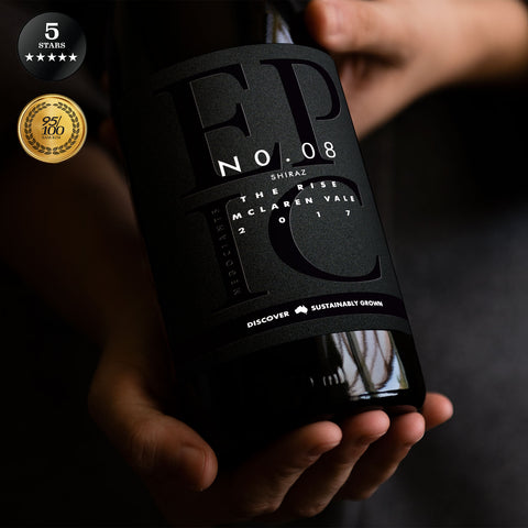 The Rise McLaren Vale Shiraz 2017 Biodynamic - Sustainable Australian Wine by Epic Negociants