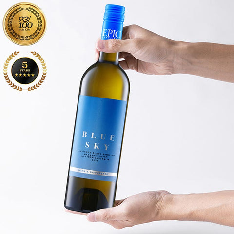 Blue Sky Margaret River Sauvignon Blanc/Semillon 2019 - EPIC NEGOCIANTS Wine- A lifetime of shared discovery