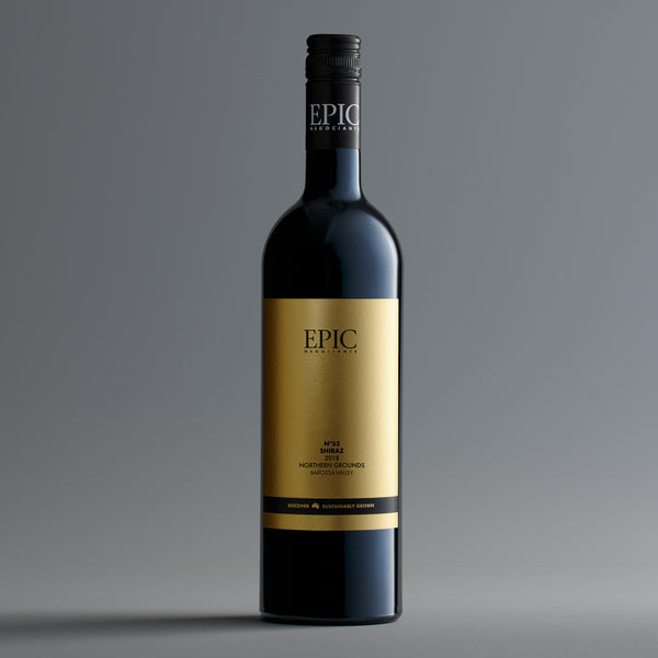 Barossa Valley Shiraz Northern Grounds 2018 - EPIC NEGOCIANTS Wine- A lifetime of shared discovery