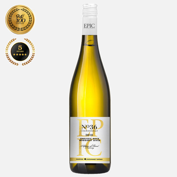 Margaret River Chardonnay- Gneissic Rock 2018 - Sustainable Australian Wine by Epic Negociants