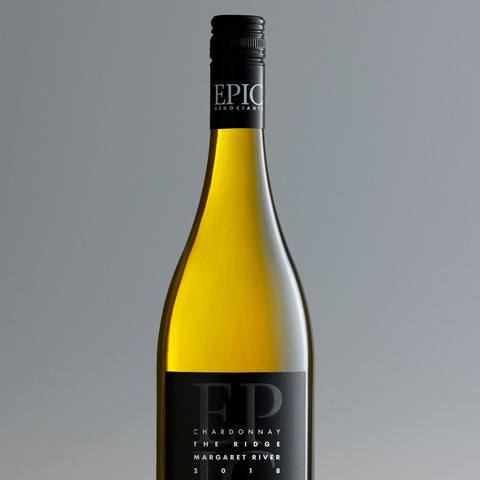 Margaret River Chardonnay - The Ridge 2018 - EPIC NEGOCIANTS Wine- A lifetime of shared discovery