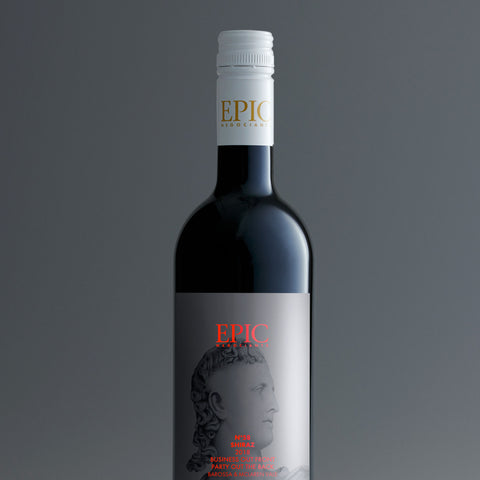 Barossa McLaren Vale Business Out Front, Party Out Back Shiraz 2018 - EPIC NEGOCIANTS Wine- A lifetime of shared discovery
