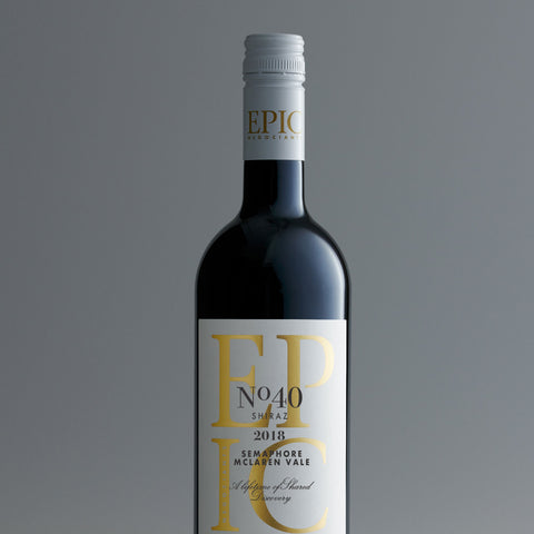 McLaren Vale Shiraz - Semaphore 2018 - EPIC NEGOCIANTS Wine- A lifetime of shared discovery