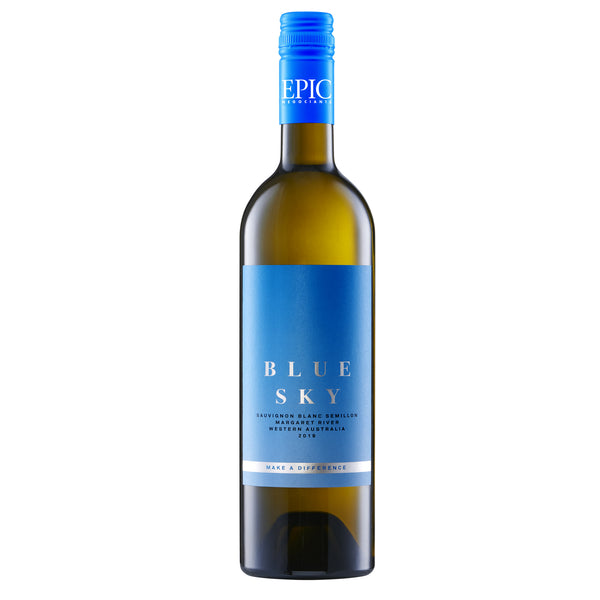 Blue Sky Margaret River Sauvignon Blanc/Semillon 2019 - Sustainable Australian Wine by Epic Negociants