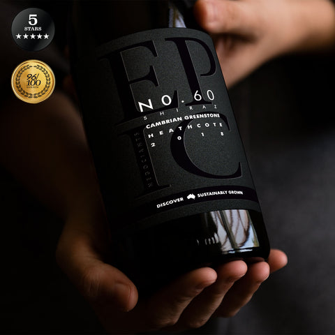 Cambrian Greenstone Heathcote Shiraz 2018 - Sustainable Australian Wine by Epic Negociants