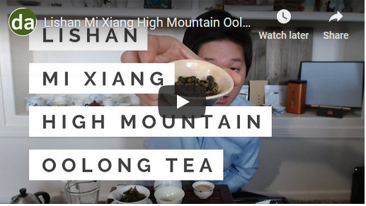 High Mountain + Bug Bites? Yes, it's possible - Lishan Mi Xiang High Mountain Oolong