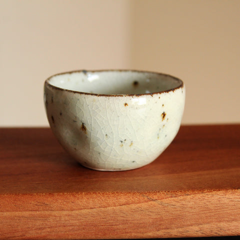 Charcoal-fired Dumbung Buncheong Teacup by Yi Yong Moo
