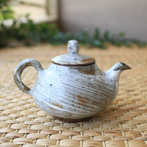 Korean Gwiyal Buncheong Teapot by Pak Jin Hyuk | Daurim Tea & Teaware