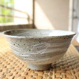 Handmade Korean Gwiyal Boonchung (Buncheong) Tea Bowl