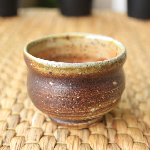 Handmade Korean Teacup by Dr. Suh Yung Gi - Choco #2 - Daurim Tea and Teaware