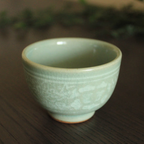 Chung Ja - Handmade Korean Teacup - Daurim Tea & Teaware