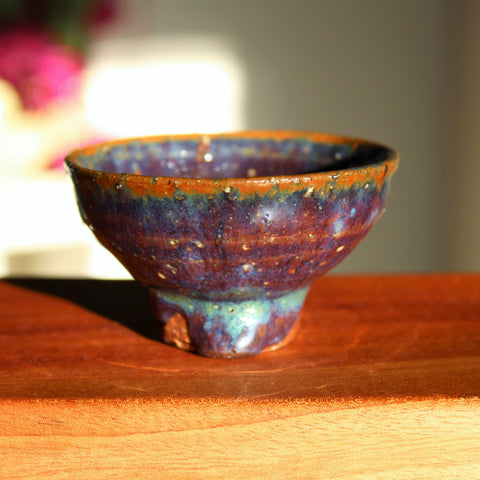 Handmade Korean Wood-fired Teacup with Byulbam Glaze | Ceramics | Daurim Tea & Teaware