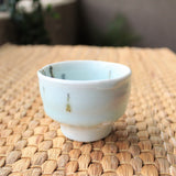 Handmade Korean Baekja Teacup, Charcoal-fired, Apple Tree Glaze | Daurim Tea & Teaware