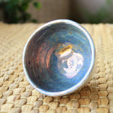 Wood-fired Iridescent Dumbung Buncheong Teacup by Jun Moon Hwan | Daurim Tea & Teaware