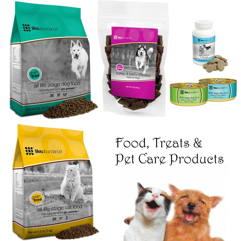 Life's Abundance Pet Foods, Treats, Pet Care