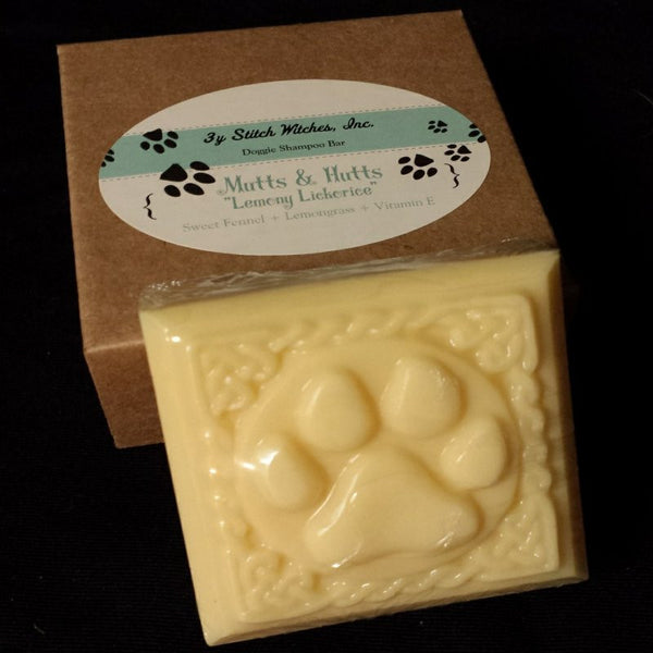 Paw Print Dog Soap Bars - Scented
