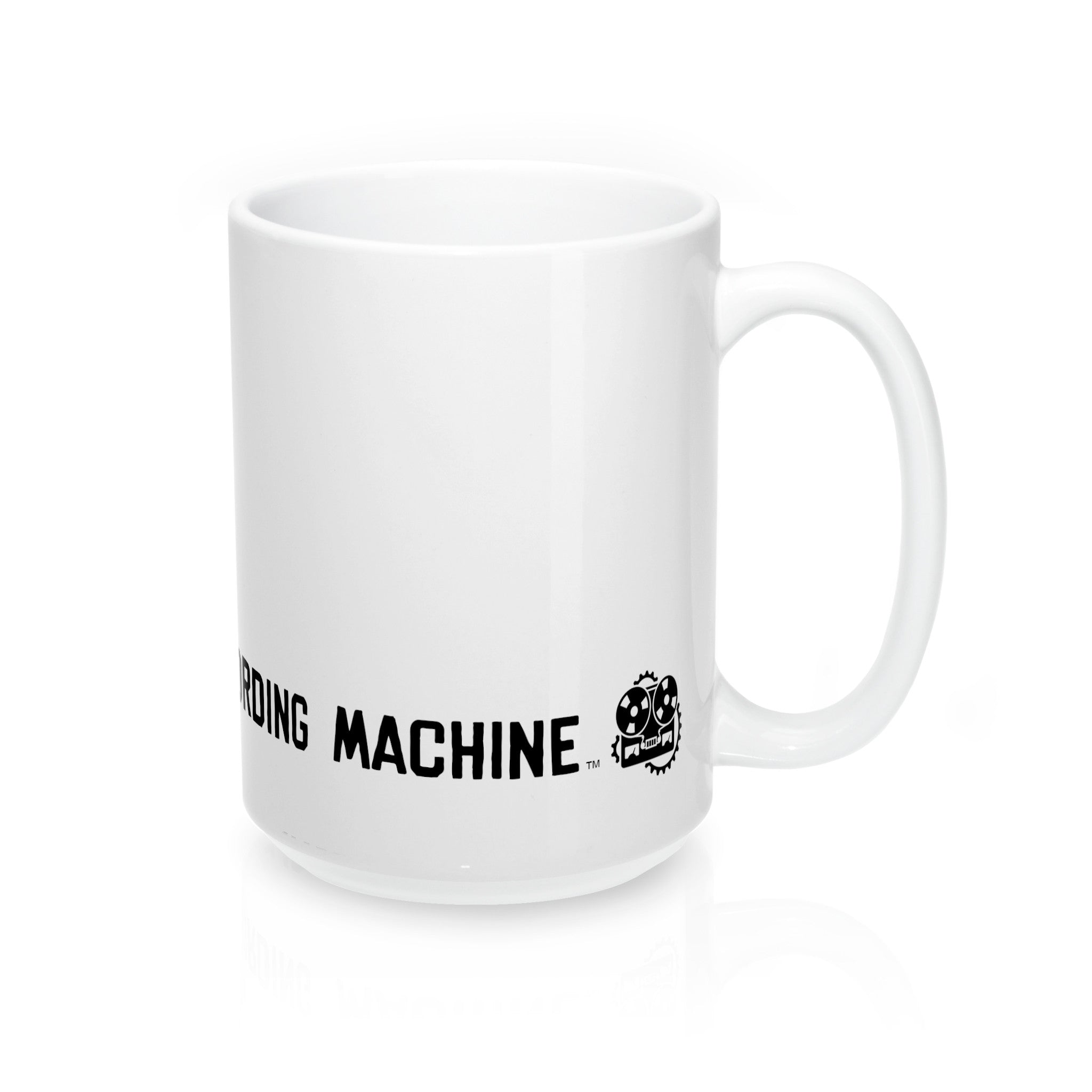 Unstoppable Recording Machine Wrap Mug