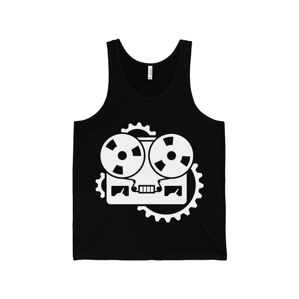 URM Tape Machine Tank, White Print