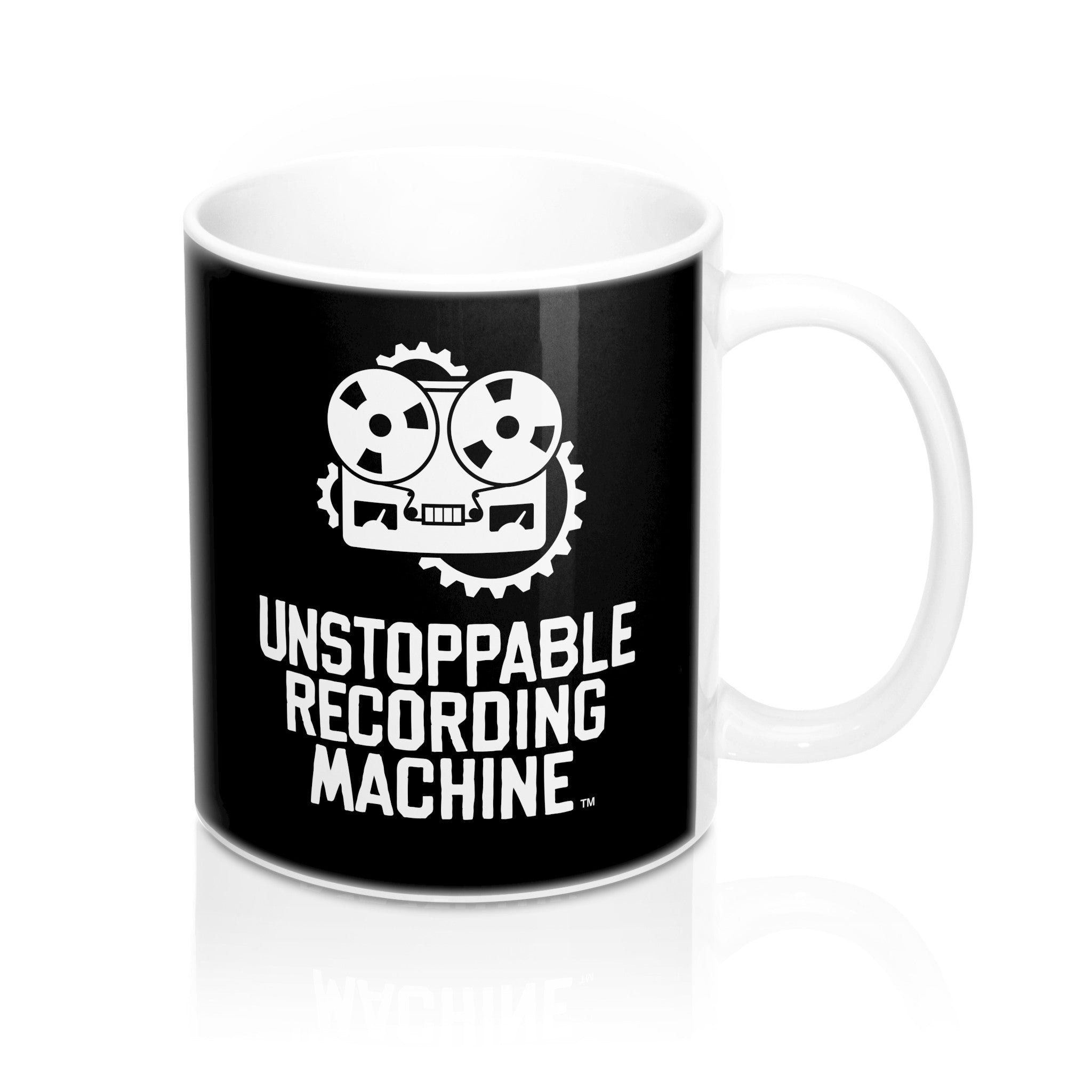 URM Full Logo Mug, Black
