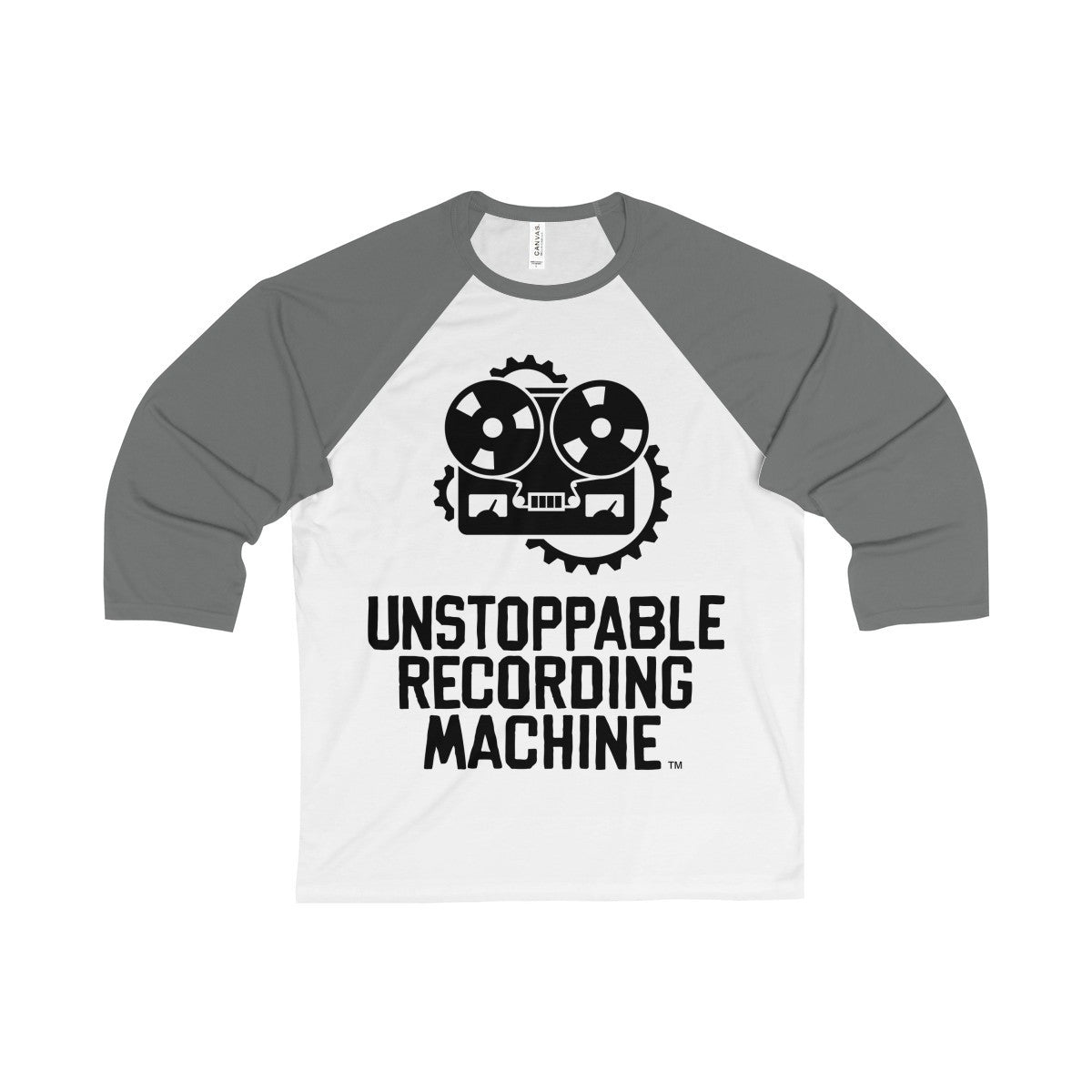 URM Full Logo 3/4 Sleeve Baseball Tee