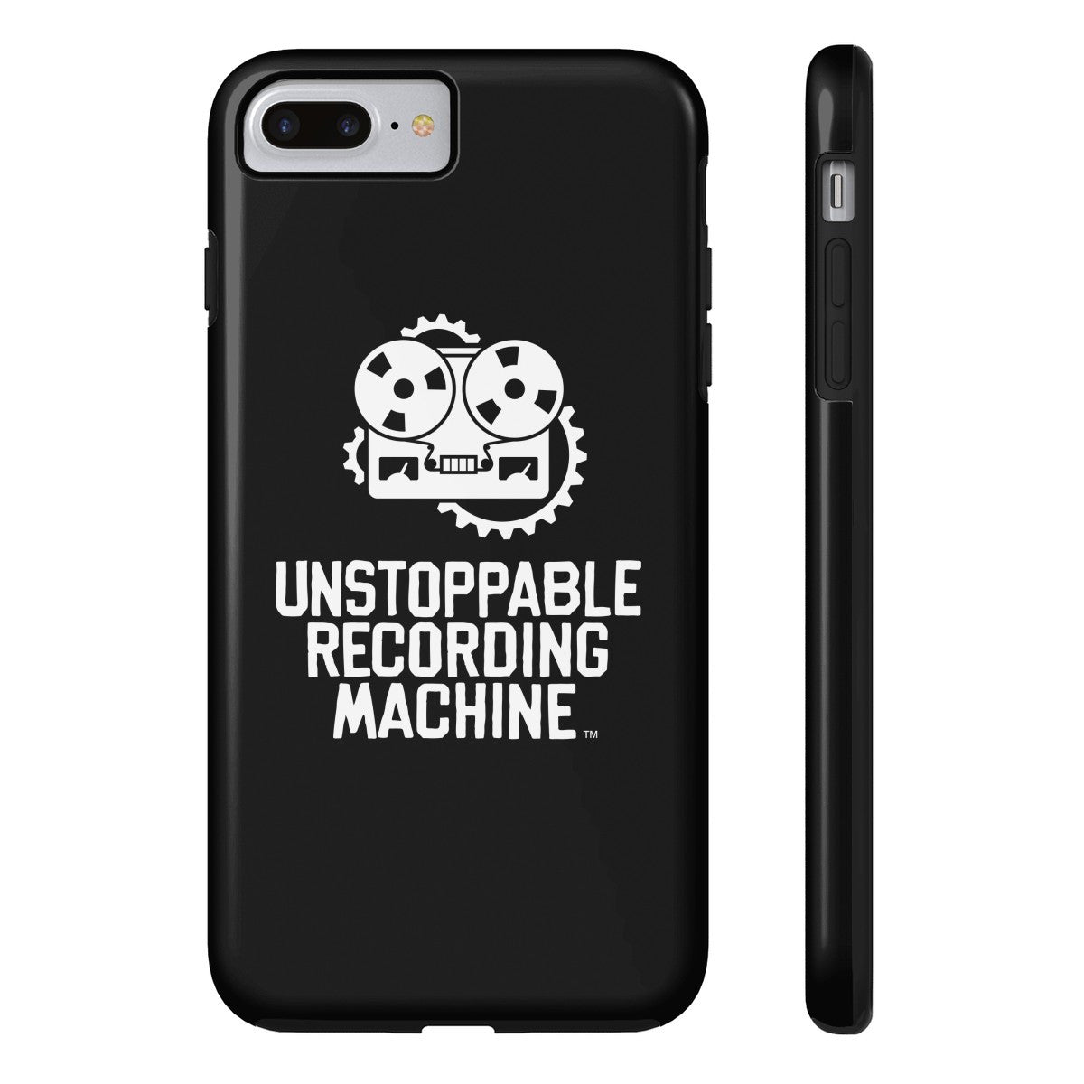 URM Phone Case, Black w/ White Logo