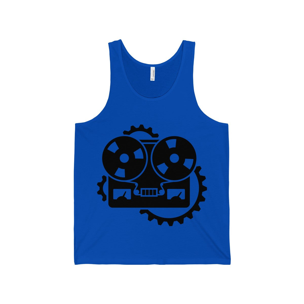 URM Tape Machine Tank, Black Print