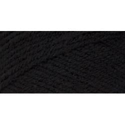 Red Heart Super Saver Yarn - Black