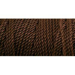 Crochet Nylon Thread - Deep Brown Size 18