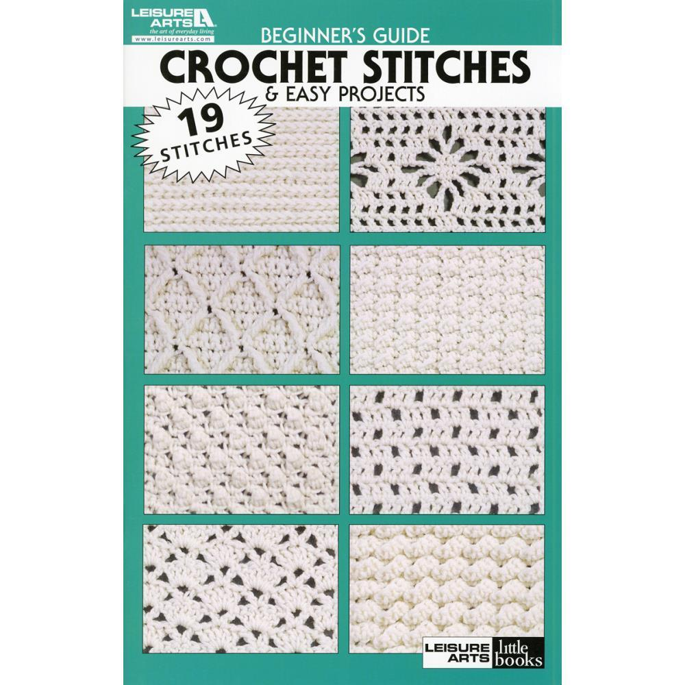 Leisure Arts Beginners Guide Crochet Stitches