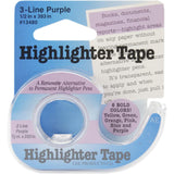 Lee Products - Highlighter Tape .5 inch X393 inch - Yellow