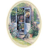 Dimensions Counted Cross Stitch Kit 12inch X16inch Door (14 Count)