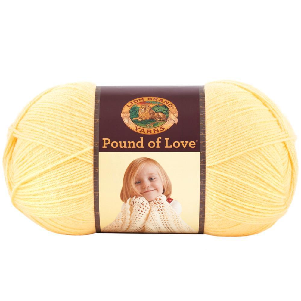 Lion Brand Pound Of Love Baby Yarn - Honey Bee