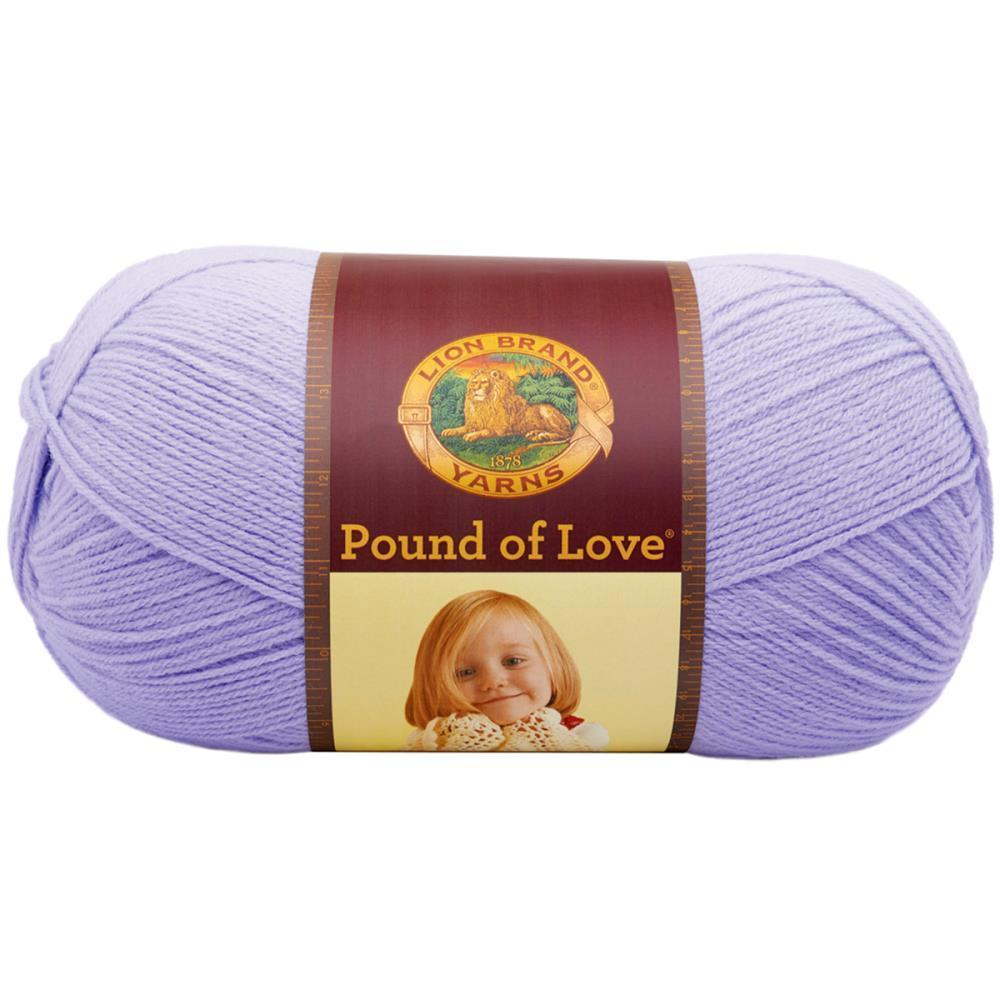 Lion Brand Pound Of Love Baby Yarn - Lavender