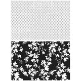 Tim Holtz Cling Rubber Stamp Set 7In. X8.5In.  Dots & Floral
