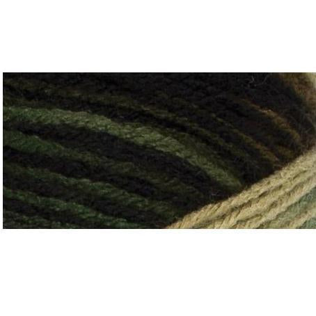 Red Heart Super Saver Yarn - Camouflage