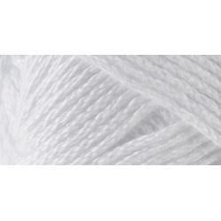 Lion Brand 24/7 Cotton Yarn - White - 3.5oz/100g