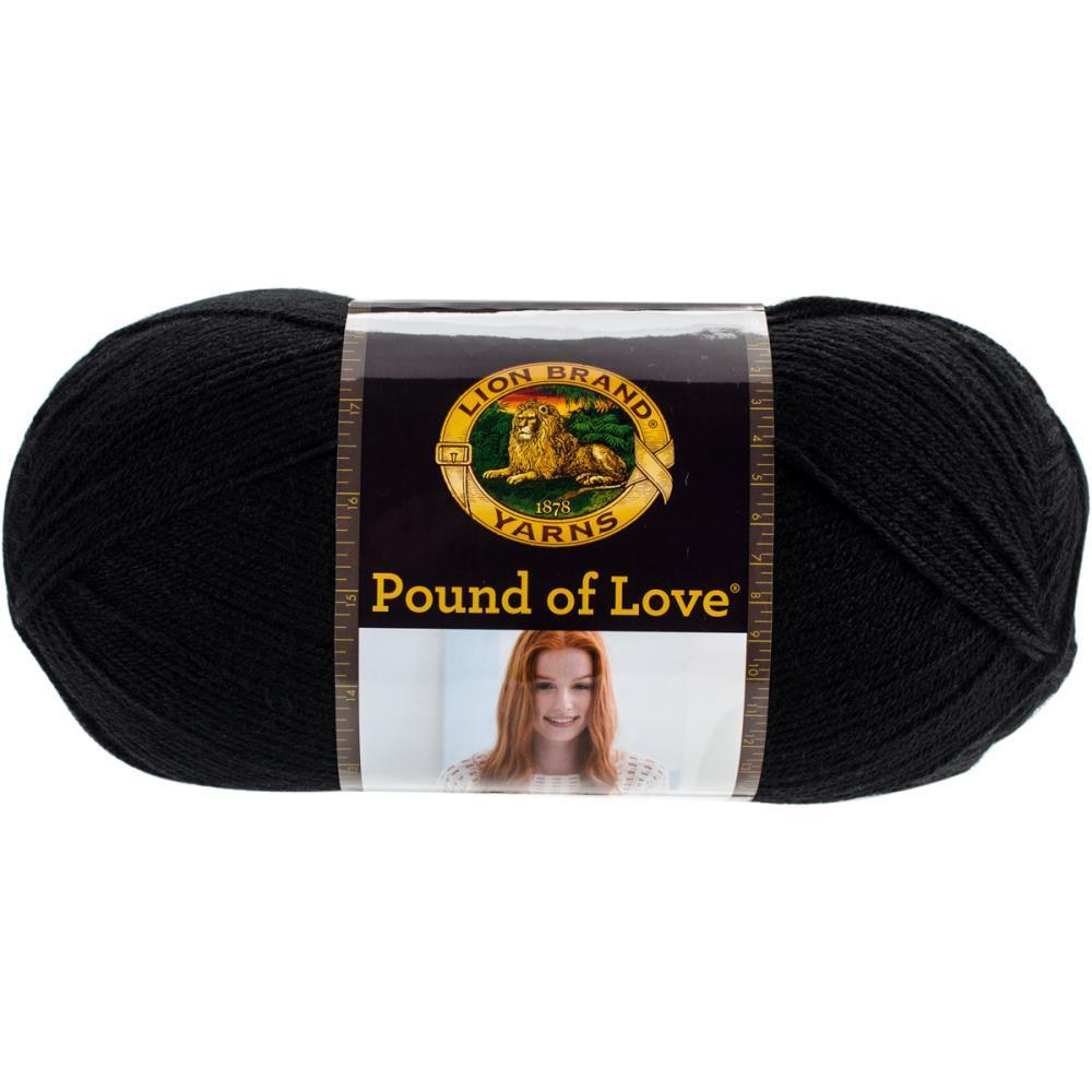 Lion Brand Pound Of Love Baby Yarn - Charcoal