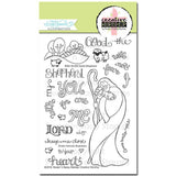 Sweet 'n Sassy Creative Worship Clear Stamps 4 inch X6 inch  Good Shepherd