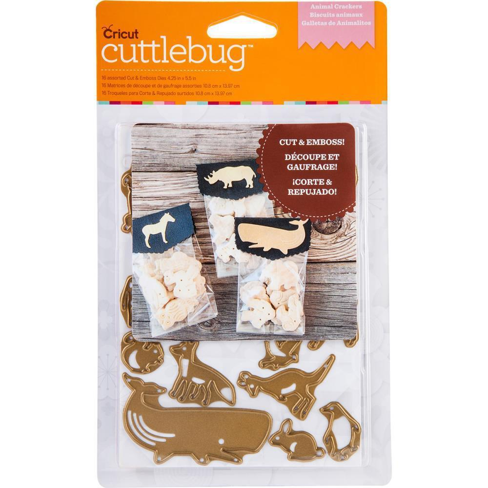 Cuttlebug A2 Cut & Emboss Die Animal Crackers