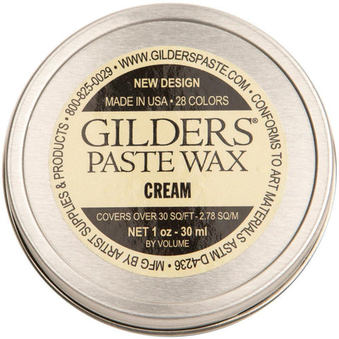 Baroque Art Gilders Paste 1oz - Cream