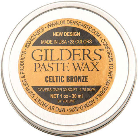 Baroque Art Gilders Paste 1oz - Celtic Bronze